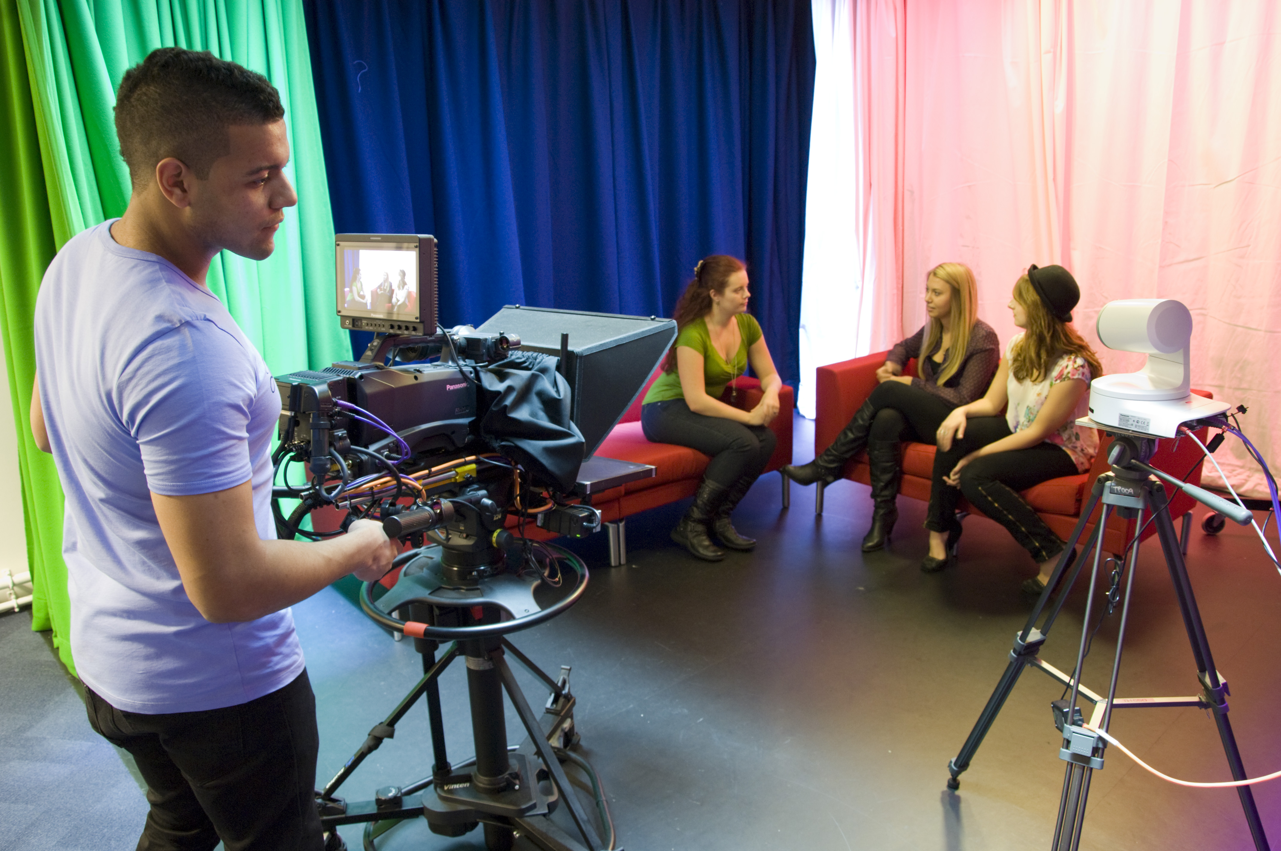 TV studio at UWE