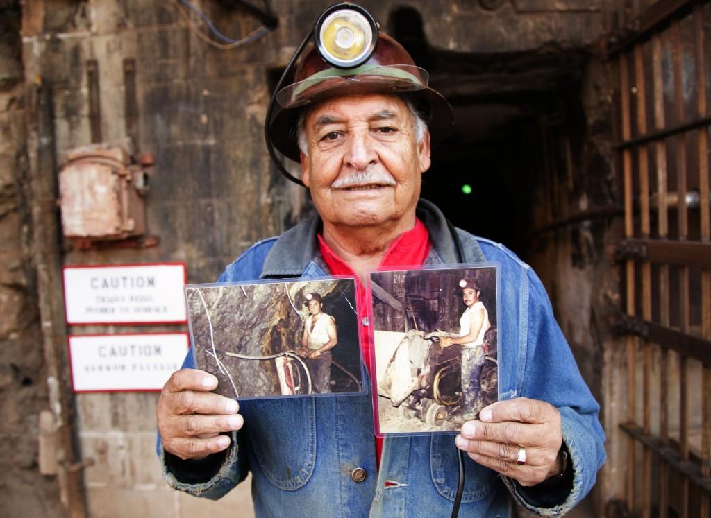 Sonny Tovar, retired Bisbee miner.